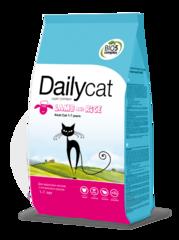 DailyCat ADULT для взрослых кошек с ягненком и рисом