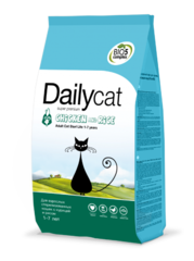 Dailycat ADULT Steri Lite для стерилизованных кошек с курицей и рисом