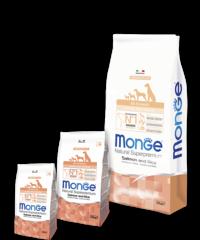 Monge Speciality Puppy & Junior Корм с лососем и рисом для щенков всех пород