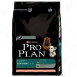 Сухой корм для щенков с чувствительной кожей/ Лосось. Pro Plan Puppy Sensitive