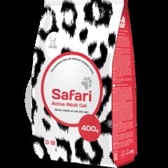 Safari Active для взрослых активных кошек (курица)