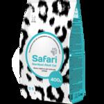 Safari Sterilized для кастрированных котов и стерилизованных кошек