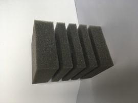 Губка квадратная для аквариумных фильтров мелкопористая арт. 2.3
