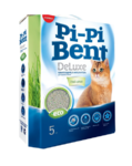 Наполнитель Pi-Pi-Bent DeLuxe Fresh grass (коробка)