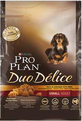 Сухой корм для взрослых собак мелких пород/ Курица PRO PLAN® Duo Delice Small & Mini
