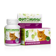 """Фитомины """"Фитоэлита"""" урологический комплекс для кошек"""