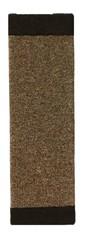 Когтеточка ковровая настенная. Ширина 16 см.