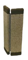 Когтеточка ковровая угловая. Ширина 11 см.