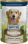 Консервы Happy Dog Natur Ягненок с рисом