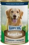Консервы Happy Dog Natur Телятина с овощами