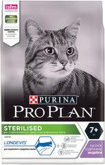 PRO PLAN Sterilised 7+ для стерилизованных кошек старше 7 лет, с индейкой