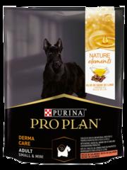 PRO PLAN NATUR EL для взрослых собак мелких и карликовых пород с чувствительной кожей (с лососем)