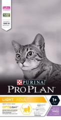 PRO PLAN Light для взрослых кошек с избыточным весом, с индейкой