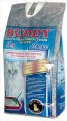 Комкующийся наполнитель Buddy Люкс для длинношерстных кошек