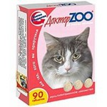 "Витамины ""ДокторZоо"" для кошек (ветчина)"