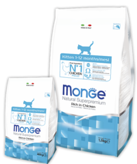 MONGE KITTEN (корм для котят)