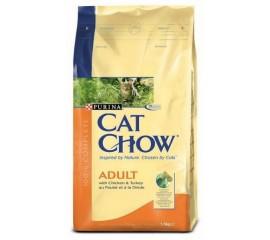 Cat Chow Adult для взрослых кошек Птица