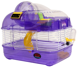 Клетка для грызунов с шагомером