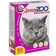 """Витамины """"ДокторZоо"""" для кошек (говядина)"""
