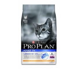 PRO PLAN Adult 7+ (для взрослых кошек старше 7 лет с курицей)