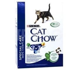 Cat Chow Feline 3в1 для взрослых кошек
