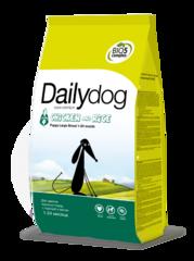 Dailydog PUPPY для щенков крупных пород с курицей и рисом