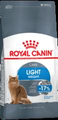 Корм для взрослых кошек в целях профилактики избыточного веса / ROYAL CANIN LIGHT WEIGHT CARE