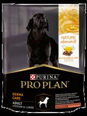PRO PLAN NATUR EL для взрослых собак средних и крупных пород (с лососем)