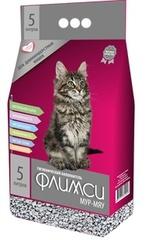 Минеральный наполнитель ФЛИМСИ для длинношерстных кошек