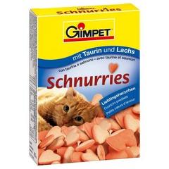 """Витамины """"Сердечки"""" с лососем для кошек"""
