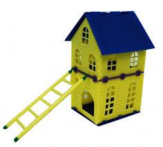 Домик для грызунов двухэтажный 03