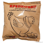 """Минеральная добавка """"Крепковит"""" для домашней птицы 900 гр."""