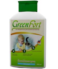 БИОшампунь репеллентный для кошек. GreenFort
