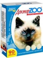 """Витамины """"ДокторZоо"""" для кошек (водоросли)"""
