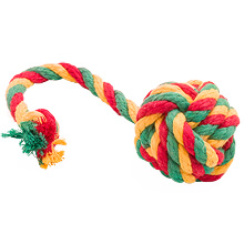 Мяч канатный цветной Doglike