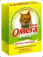 Витамины для кошек Омегa NEO (морские водоросли)