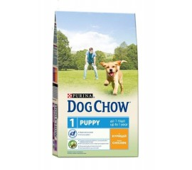Dog Chow Puppy - Junior для щенков /Курица