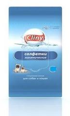Влажные салфетки CLINY