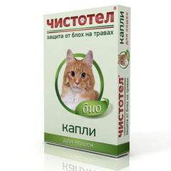 Капли Чистотел БИО от блох для кошек
