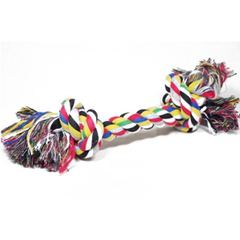 Игрушка для собак Грейфер Веревка цветная с 2-мя узлами