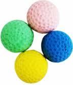 Мяч для гольфа одноцветный