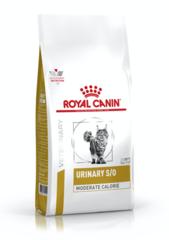 Royal Canin Urinary S/O Moderate Calorie Feline (для кошек после кастрации/стерилизации или при предрасположенности к избыточному весу при лечении мочекаменной болезни)